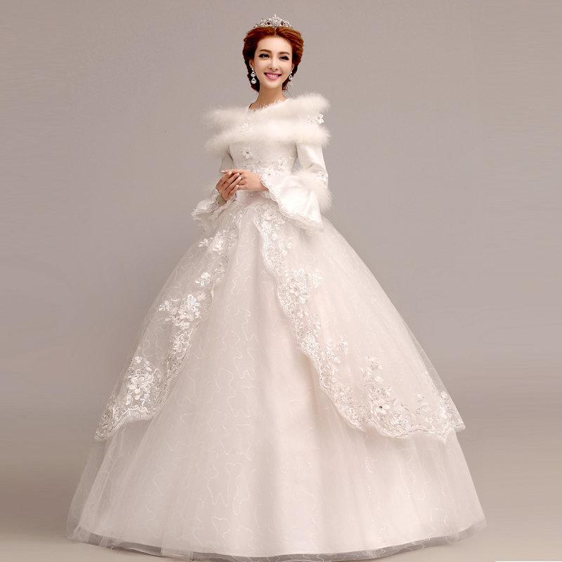 свадебные платья для зимы в картинках мне кажется самая
