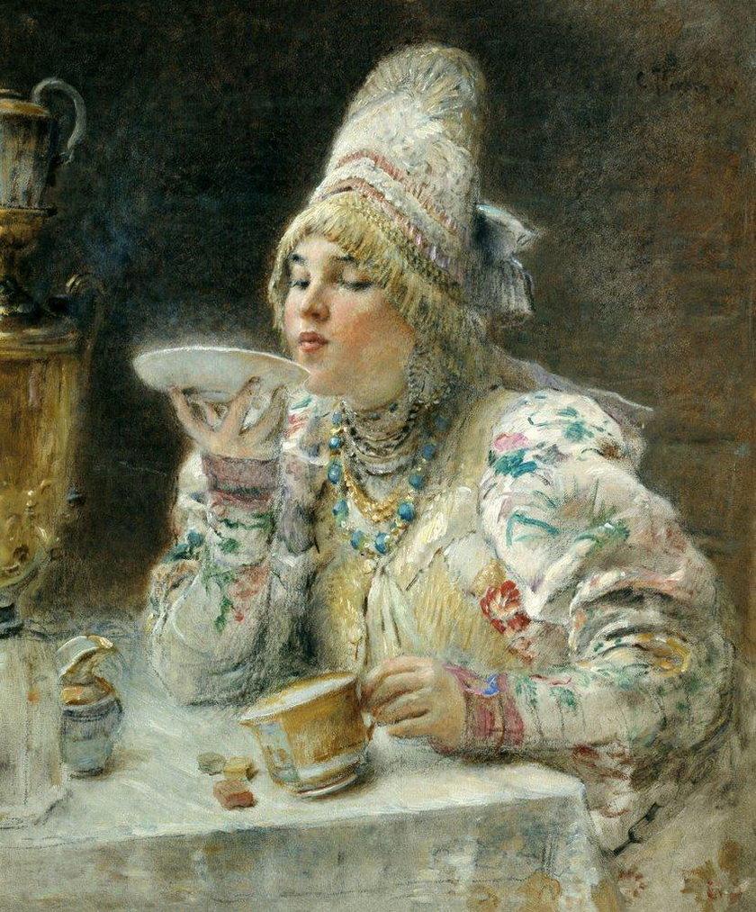 Открытки с репродукциями картин русских художников