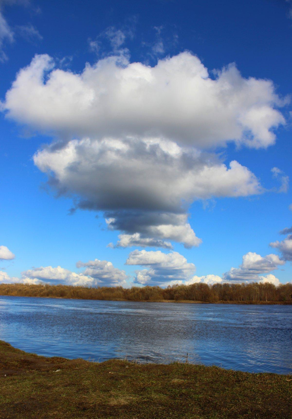 Картинки облака река