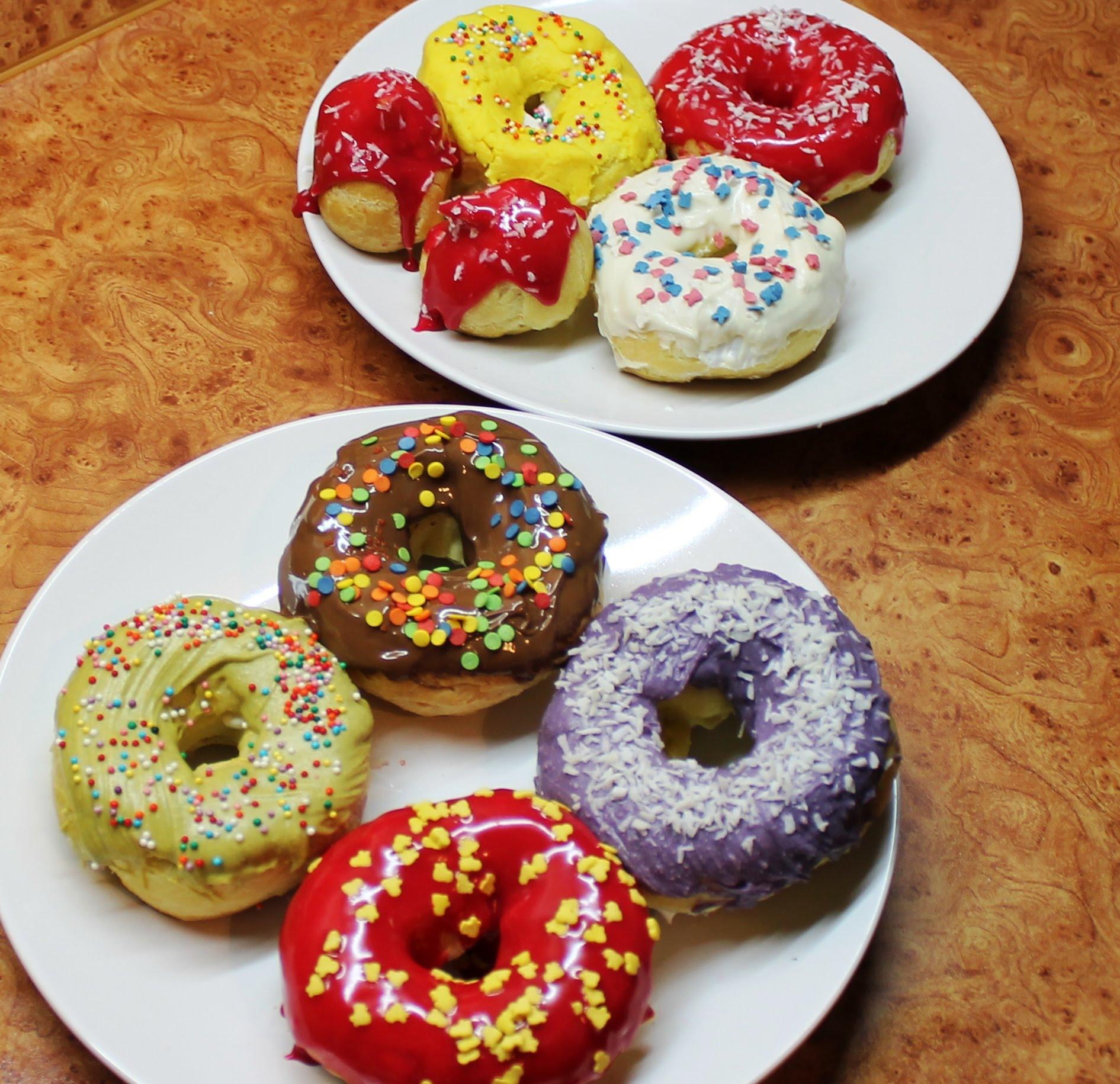 рецепты пончиков с глазурью