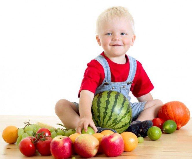 Картинки детей с фруктами и овощами