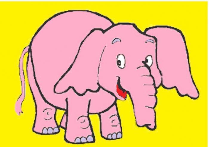 Очень, день слона открытки