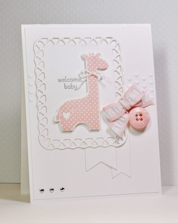 Год, сделать открытку своими руками для новорожденного