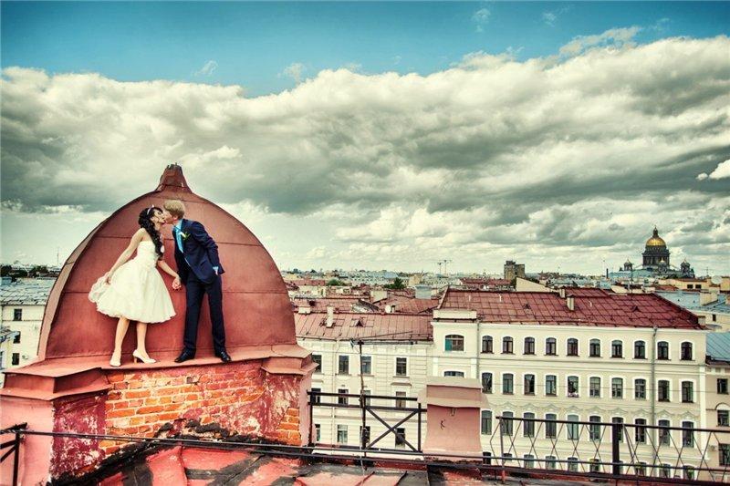 профессиональная фотосессия в питере на крыше новоград павлино проект