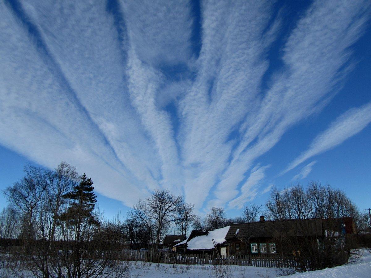 отобразить фотографии облаков зимой октябре