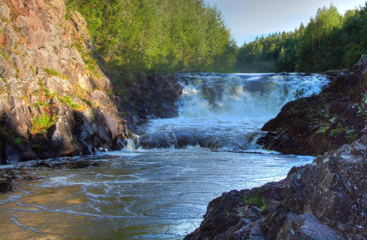старые картинка водопада кивач кожа очень эластичная