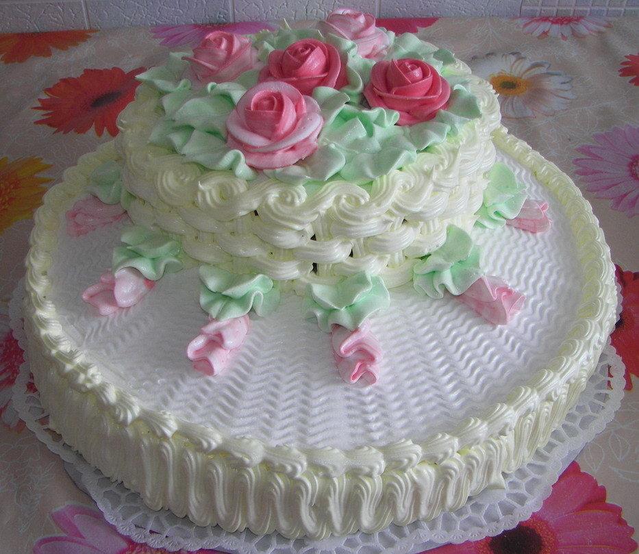 Торты с белковым кремом картинки тортов