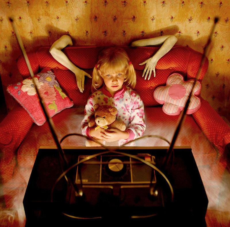 Картинки страшилки для детей, организации днем
