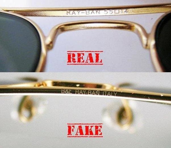bb26ab7d3346 Как отличить оригинал Ray-Ban от подделки  Солнцезащитные очки Ray-Ban http