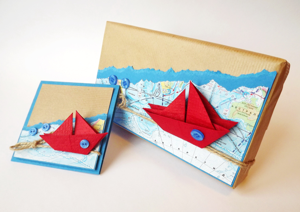 Для мальчика, открытки с корабликами