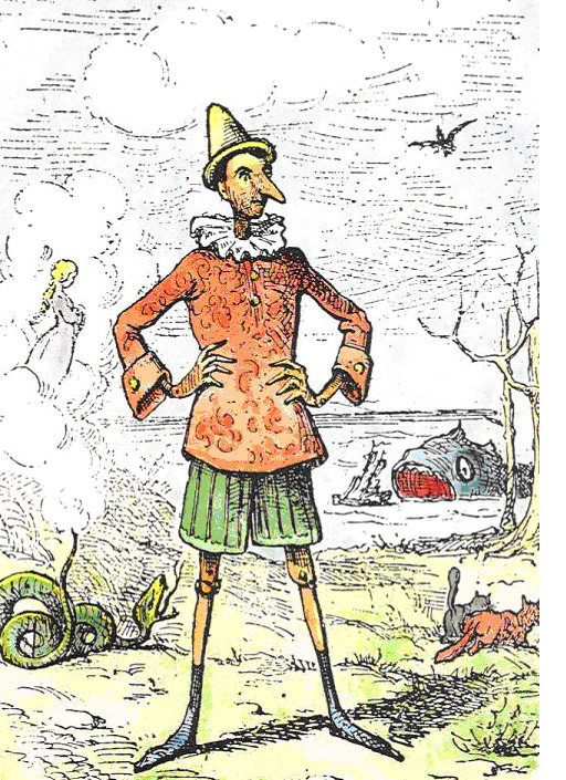 7 июля 1881 г. В Риме была впервые напечатана сказка Карло Коллоди «Пиноккио»