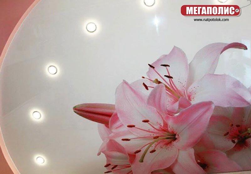 клеи розовая лилия на фотопечати картинки дэдпул