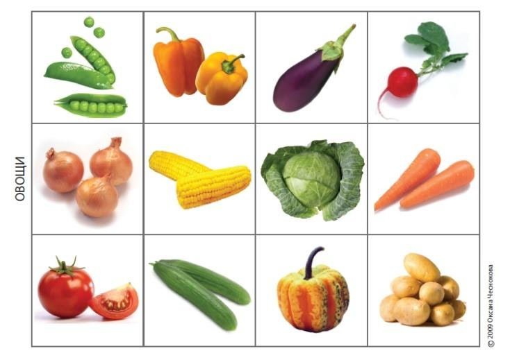 Картинки тема овощи для детского сада
