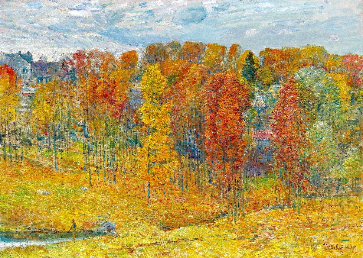 Осенние картинки и их художники