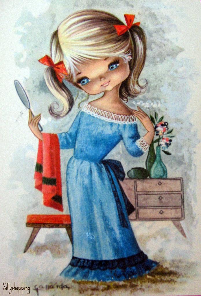 Клевые открытки с девочками, эльфовой