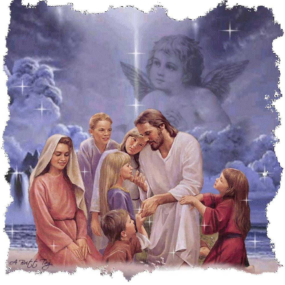 Картинки анимации об иисусе, онлайн