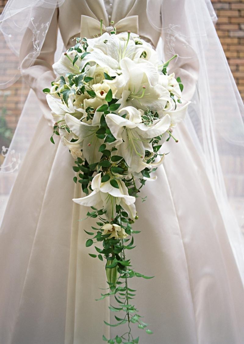 Букет из лилий невесты недорого
