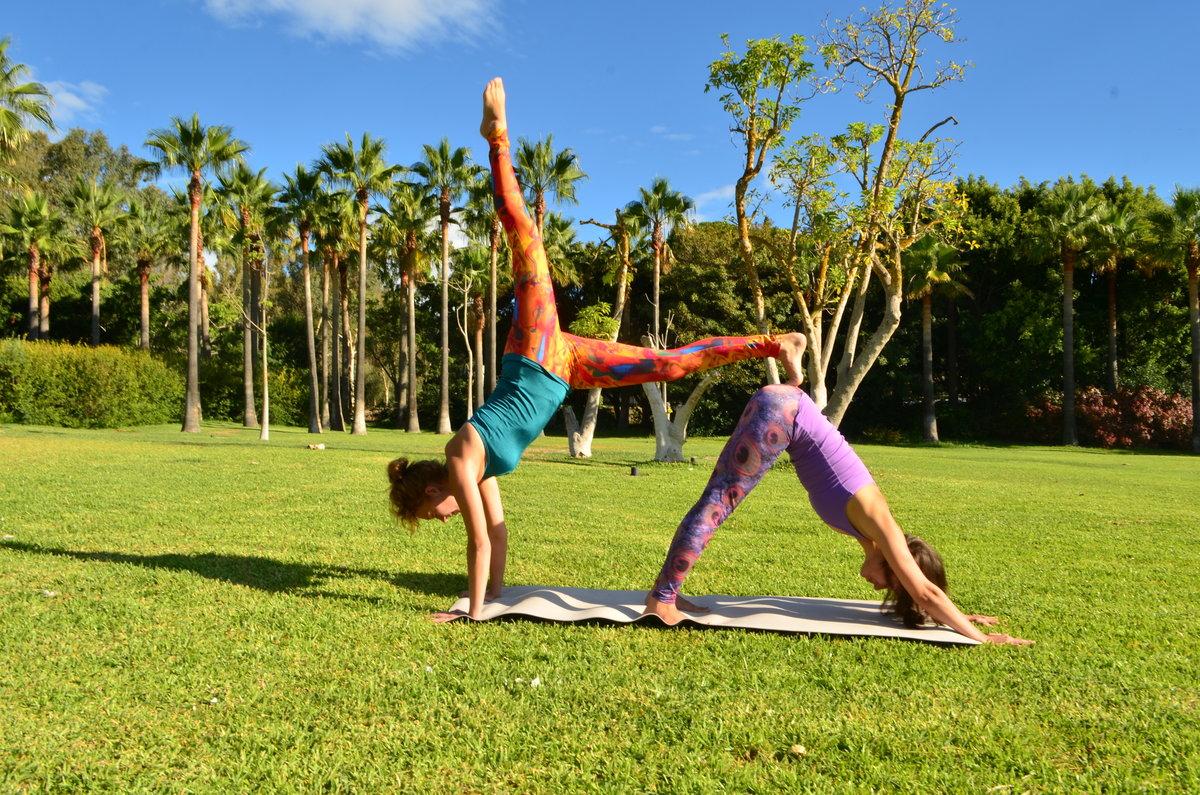 Сложные картинки йога челлендж на двоих сложный