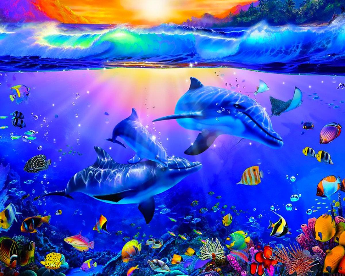 яркая картинка на тему моря стих