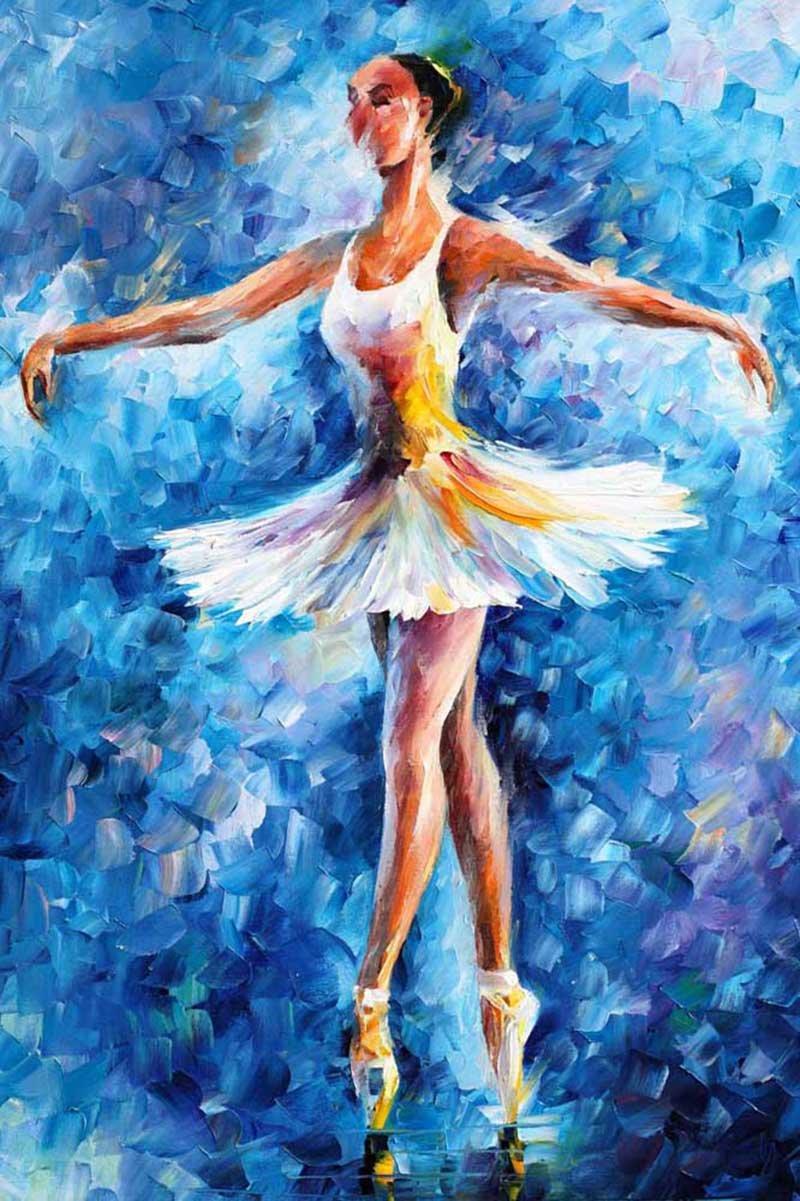 картинки на которых нарисована балерина краской предлагаем
