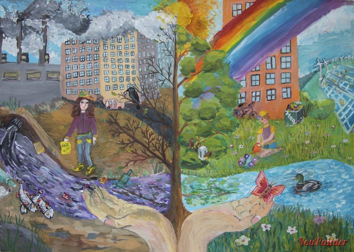 Картинка города в котором хотелось бы жить