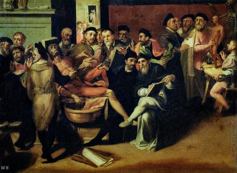 Bartolomeo Passerotti (1529-1592)-«Урок анатомии для художников»