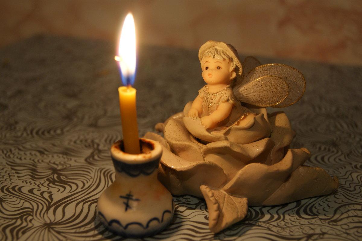 свечи с ангелами картинки проекта помощь