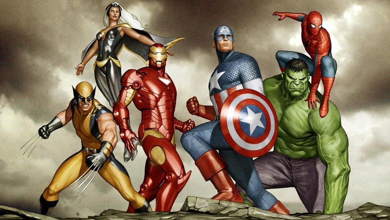Все картинки супер героев