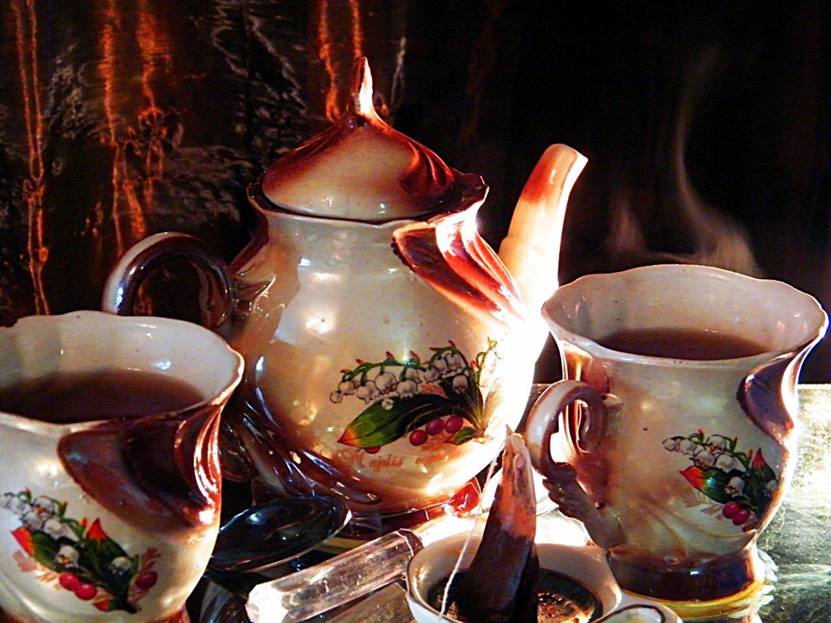 Другу, картинки чай на двоих