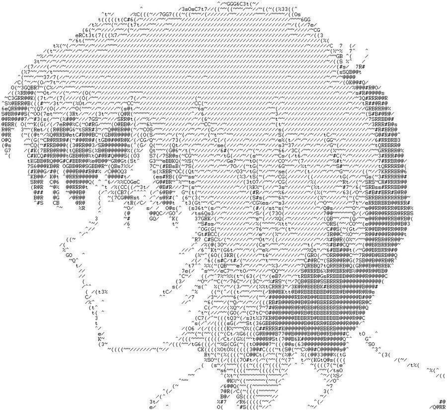 Картинки из точек и запятых аниме