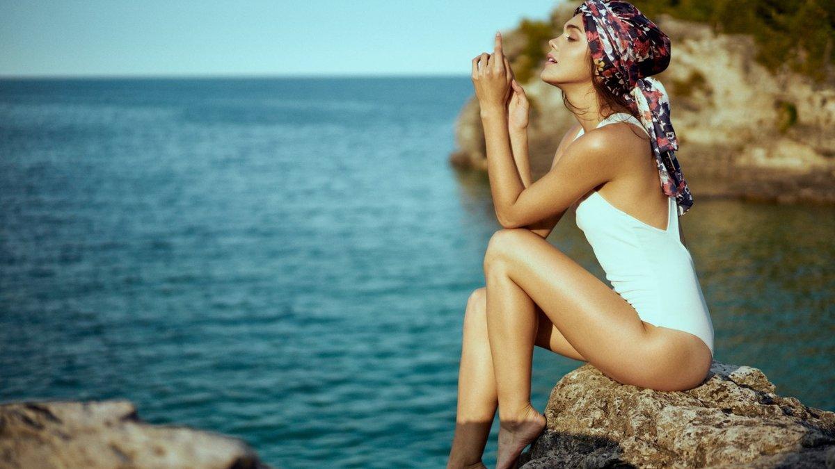 живую как фотографироваться на берегу моря ней
