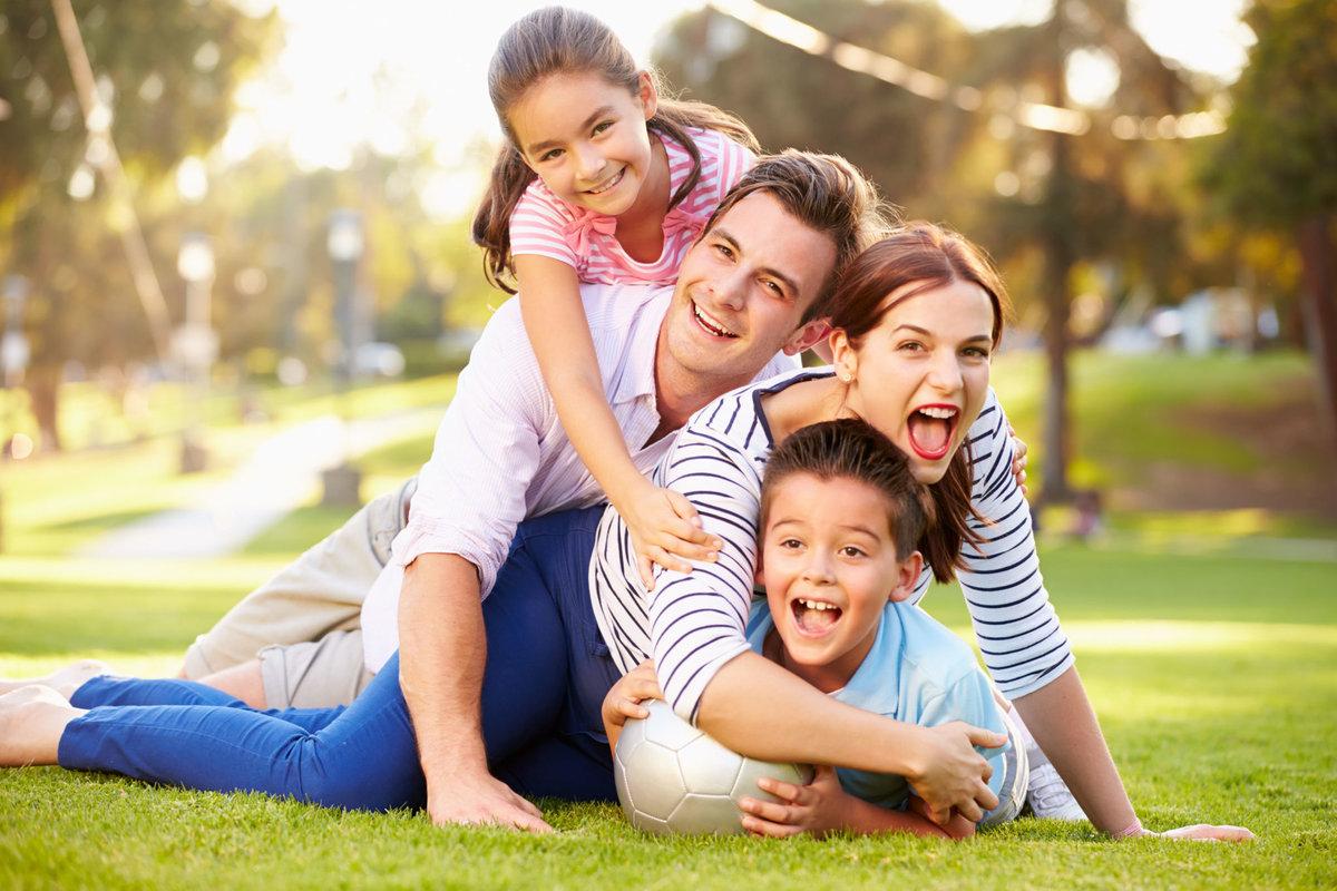 Картинка счастливой семьи для детей, сделать