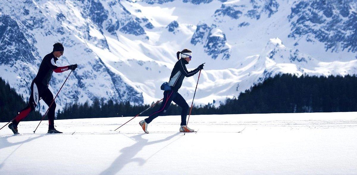 лыжные прогулки для похудения