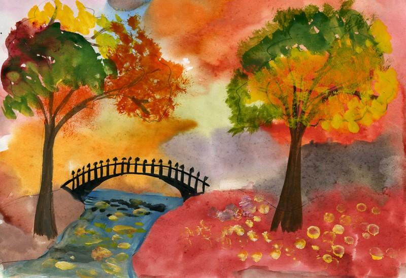 картинки осень рисунки