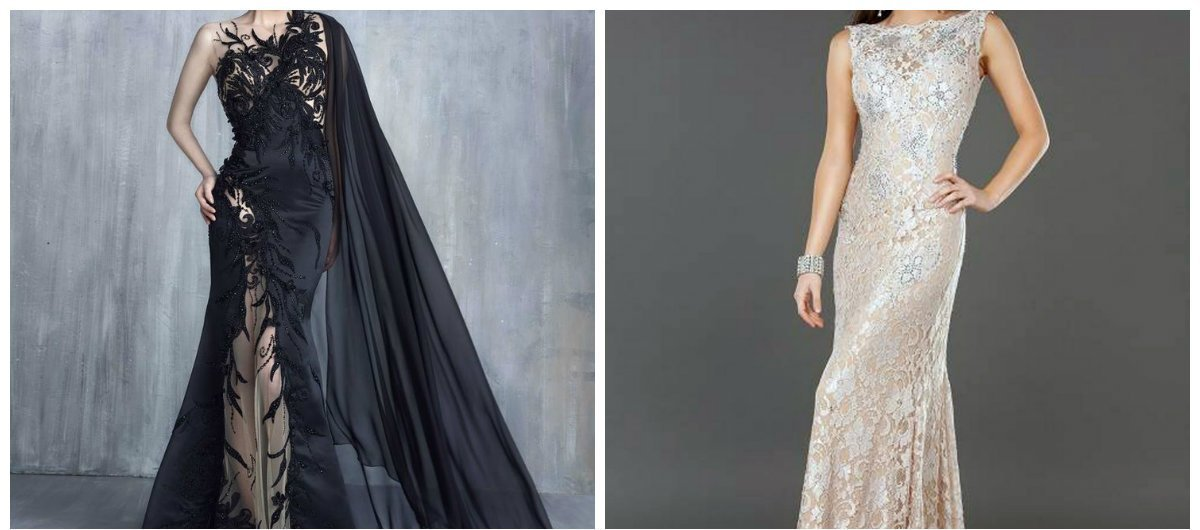 Designers have presented latest trends of evening dresses 2018. Let& ...