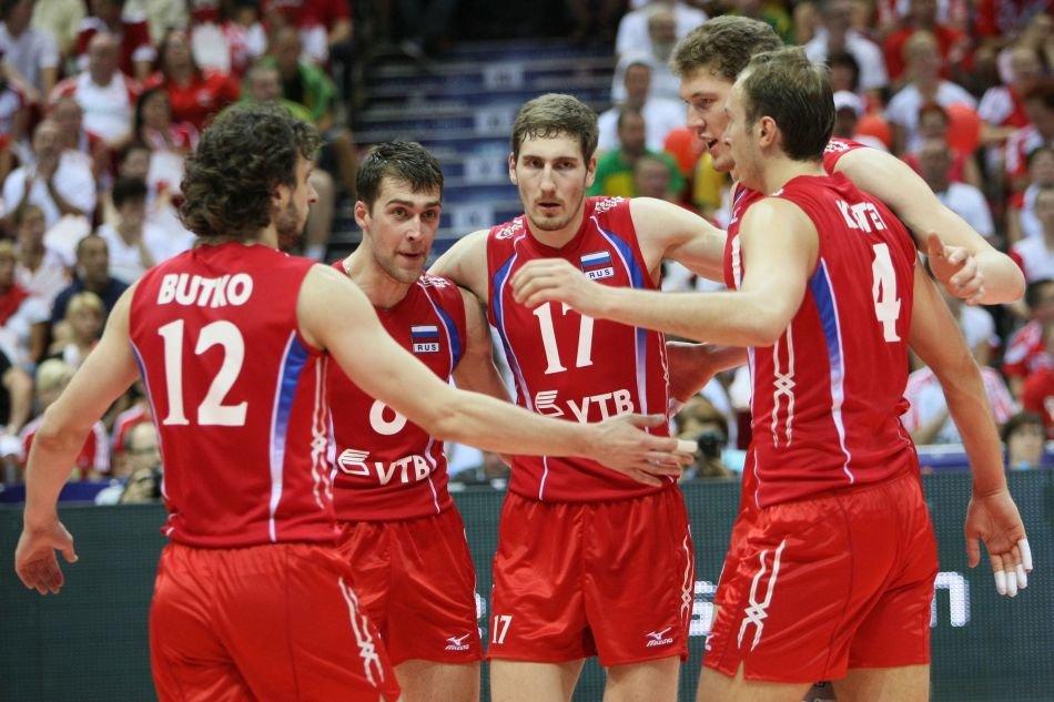 сборная россии по волейболу мужчины фото