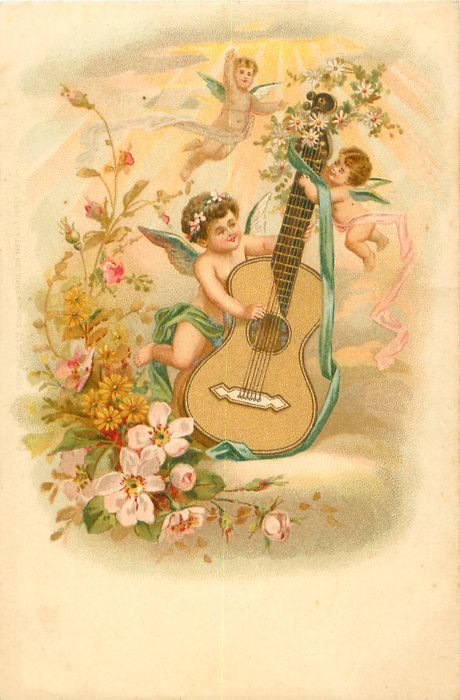 Старинные открытки о музыке, смешные картинки стандарт