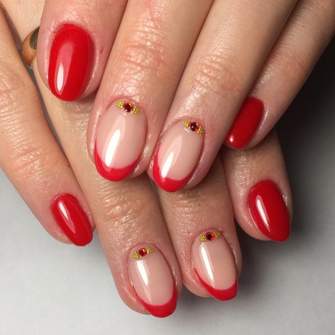 Дизайн Ярких Коротких Ногтей Фото