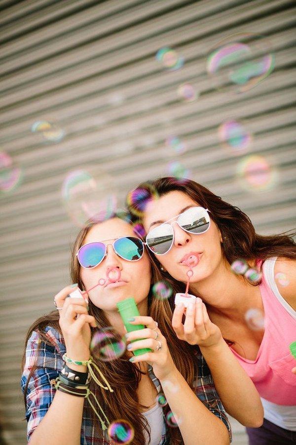 Красивые фотографии про подруг