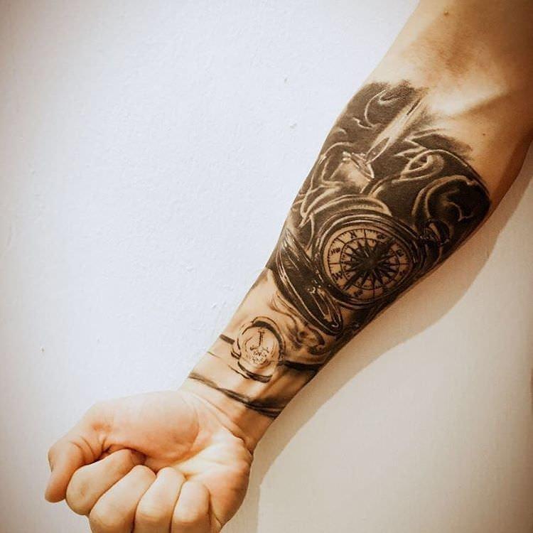 23 Forearm Sleeve Tattoo Designs Ideas Design Trends Tattoo \