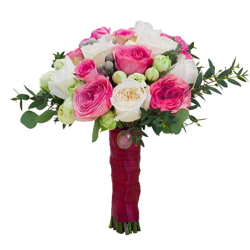 Букет невесты от 1500р в москве недорого, цветов дом