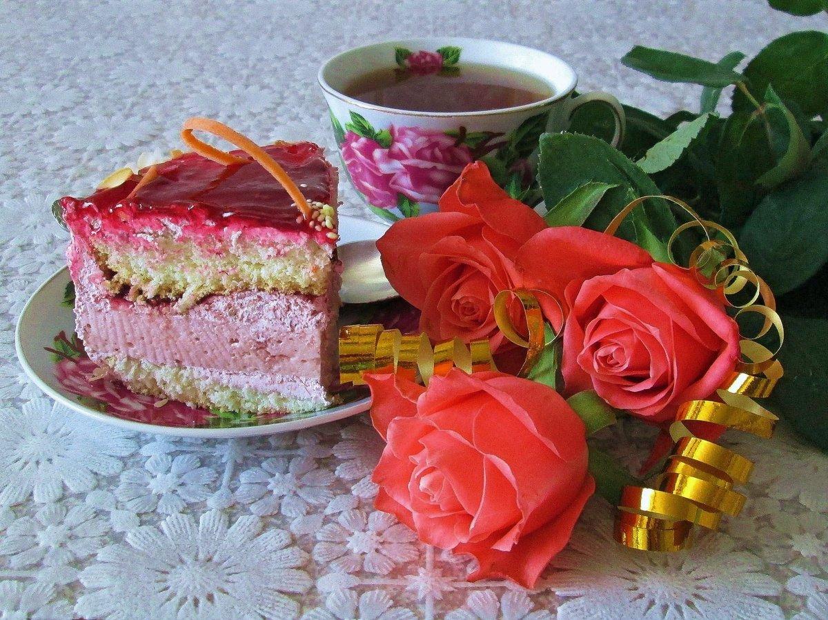 Фото, открытка роза с пожеланиями доброго утра
