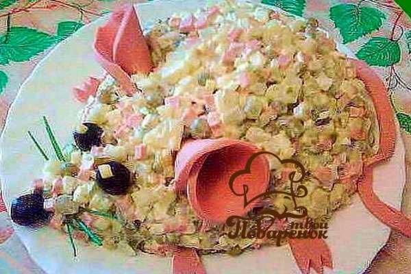 Украшение салатов: оригинальные идеи для праздничного 97