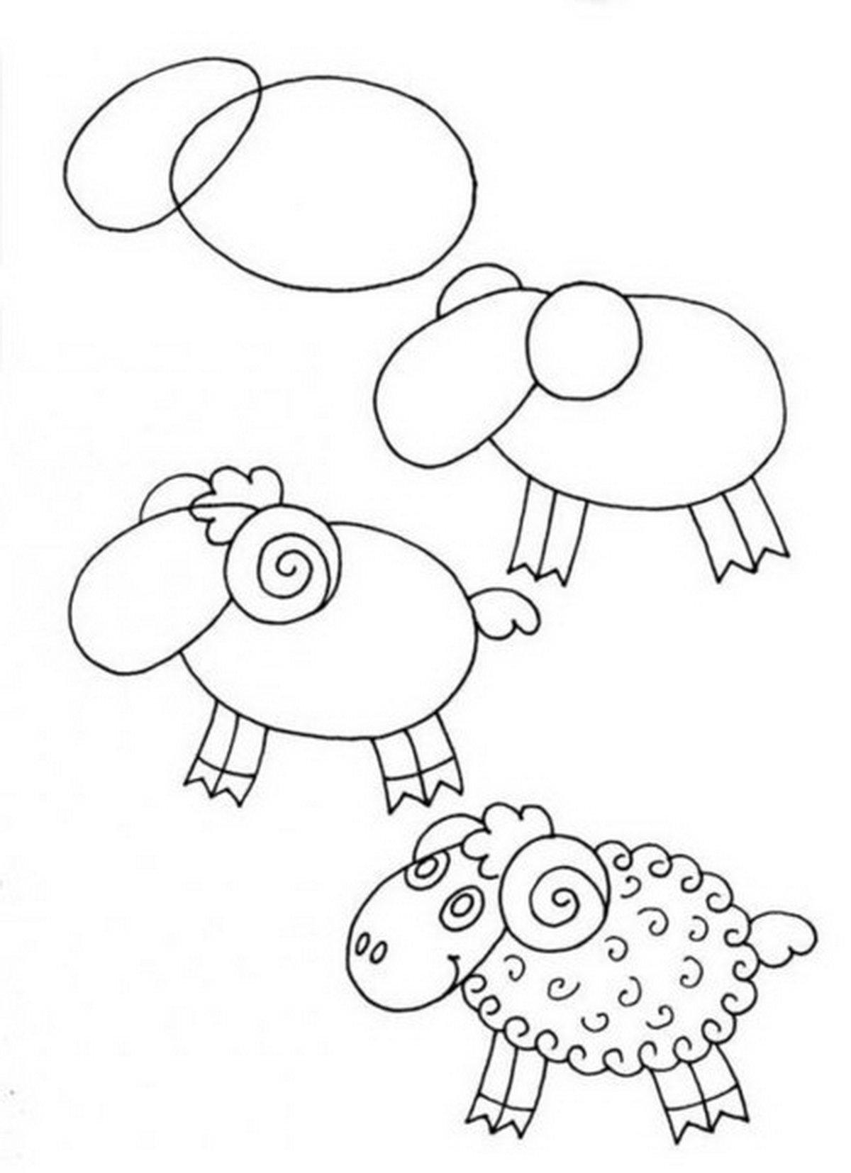Любым, картинки для детей 9 лет рисовать
