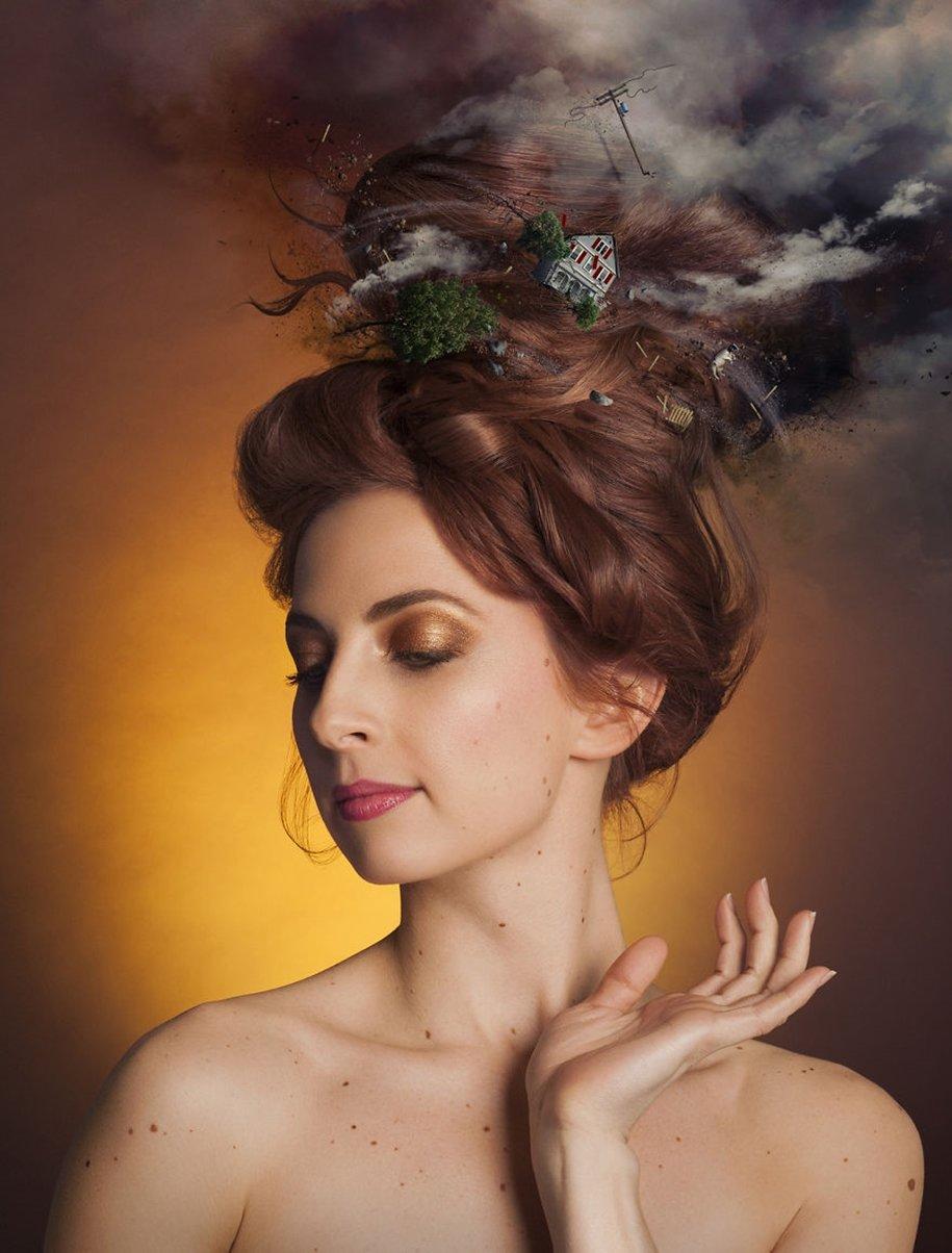 Женский образ в работах фотохудожников