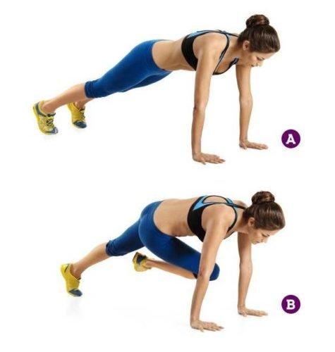 кардио упражнения для сжигания жира в домашних женщин