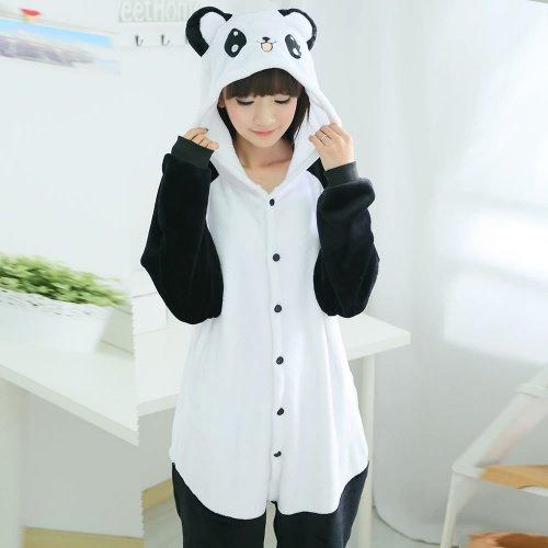 Детская пижама-кигуруми Веселая Панда.
