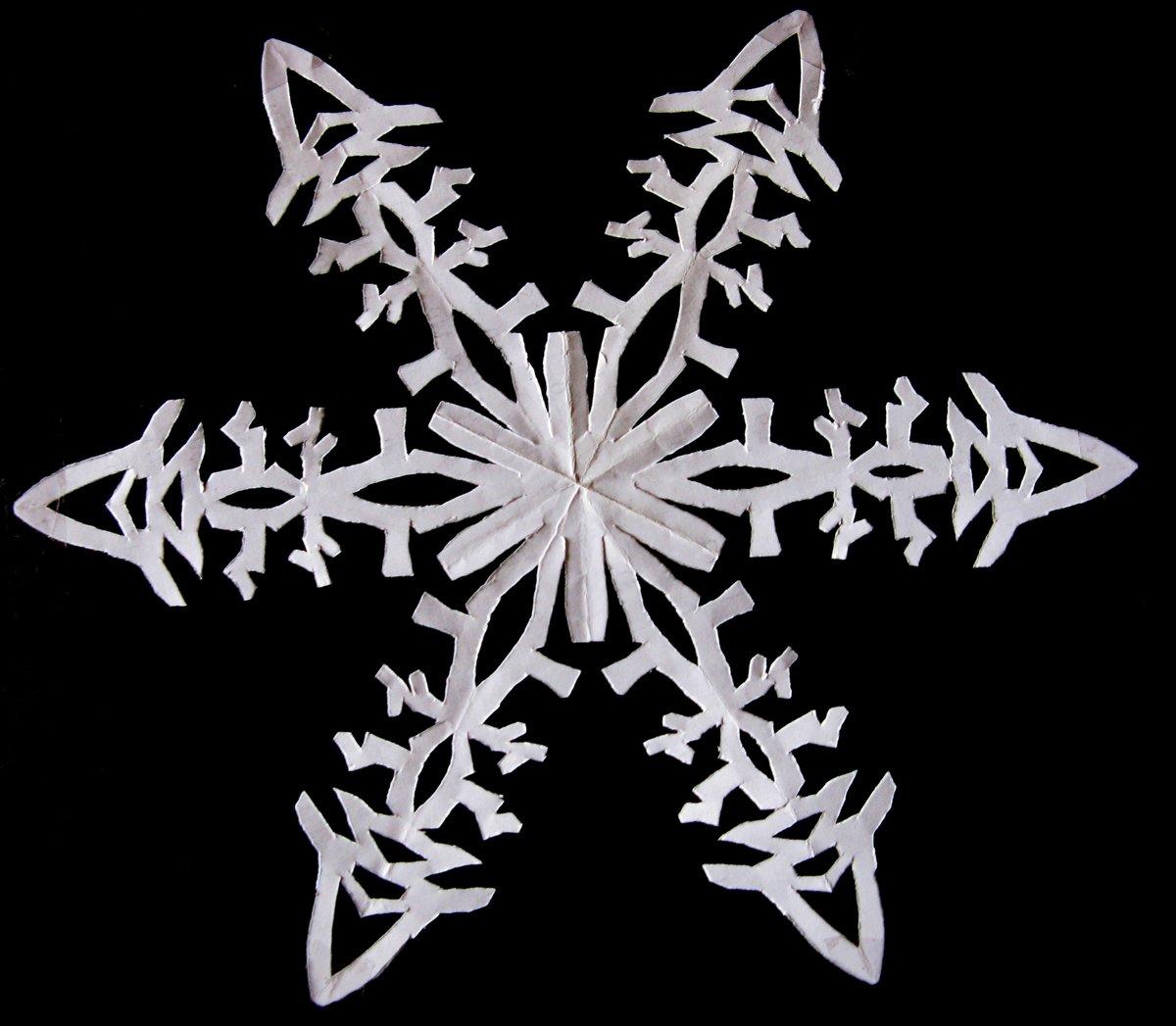 картинки легких снежинок