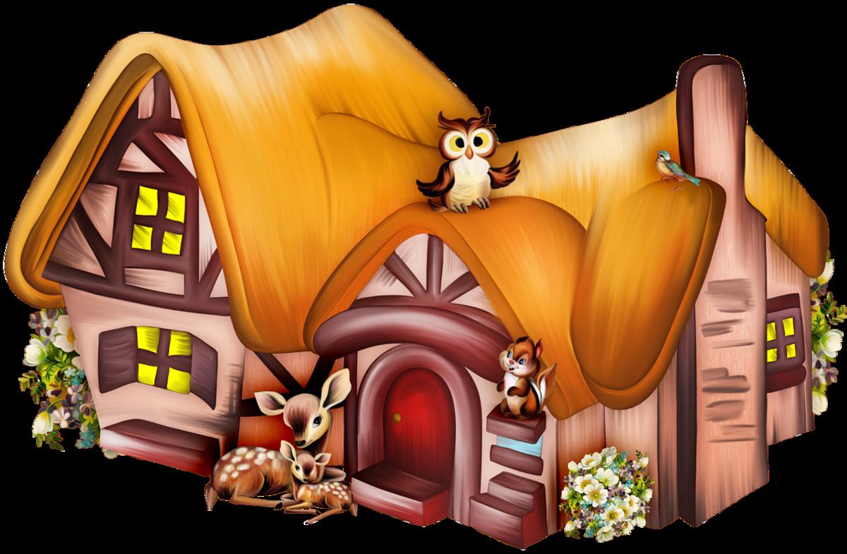 Дом прикольный рисунок, ярославль фото