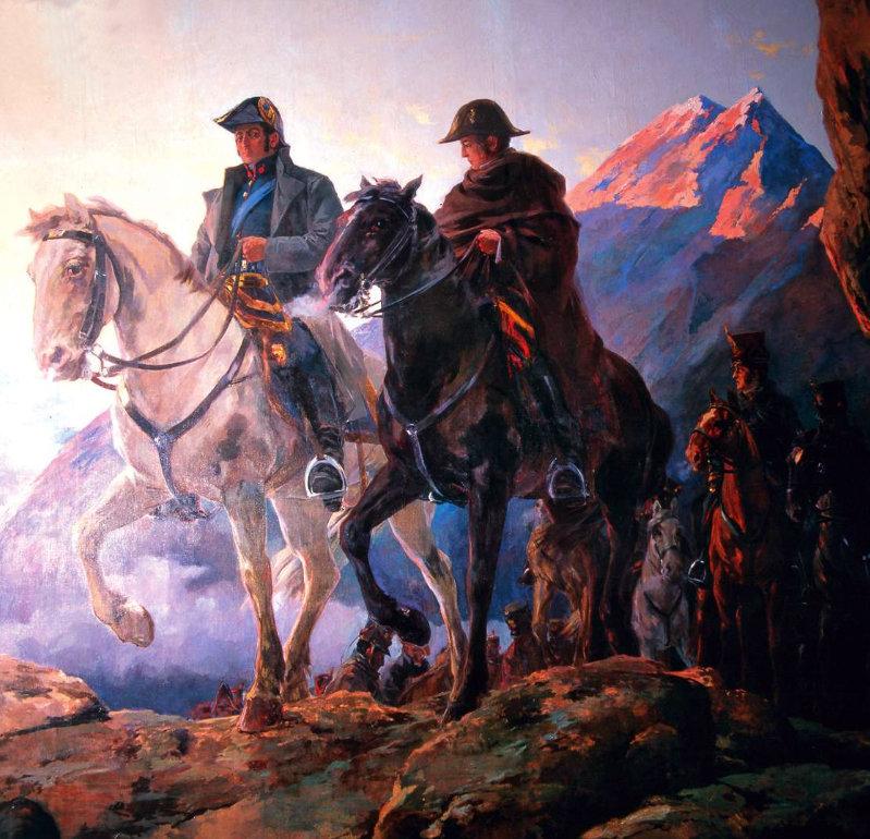 5 апреля 1818 года в ходе войны за независимость испанских колоний в Южной Америке освободительная Андская армия разгромила испанцев